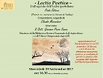 Lectio Poetica index